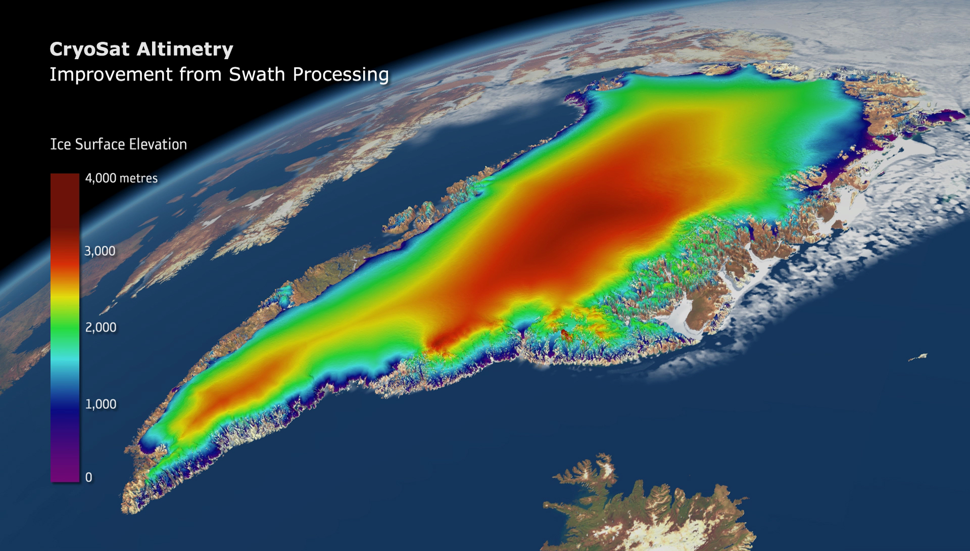 Cryosat Altimetry