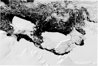 CryoSat reveals lake outbursts beneath Antarctic ice